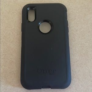 Otter box Defender iPhone XR Black